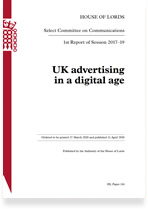 UK advertising in a digital age